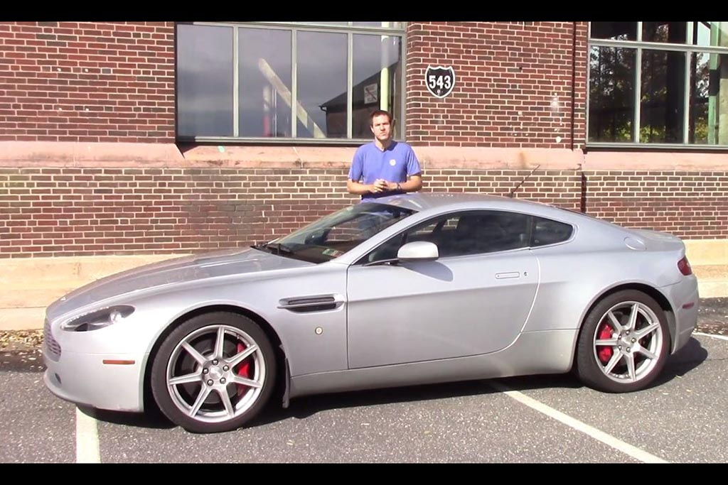Here's How People React When They See an Aston Martin