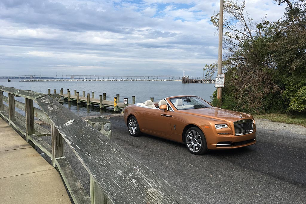 The Rolls-Royce Dawn Is a Truly Wonderful Experience