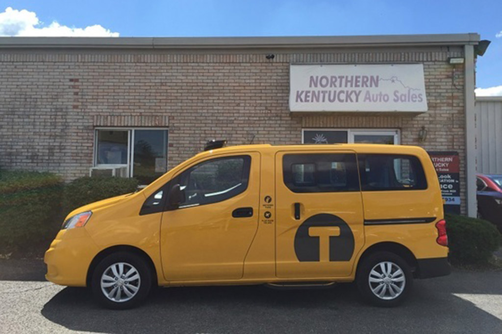 Autotrader Find: Low-Mileage Nissan NV200 New York City Taxi