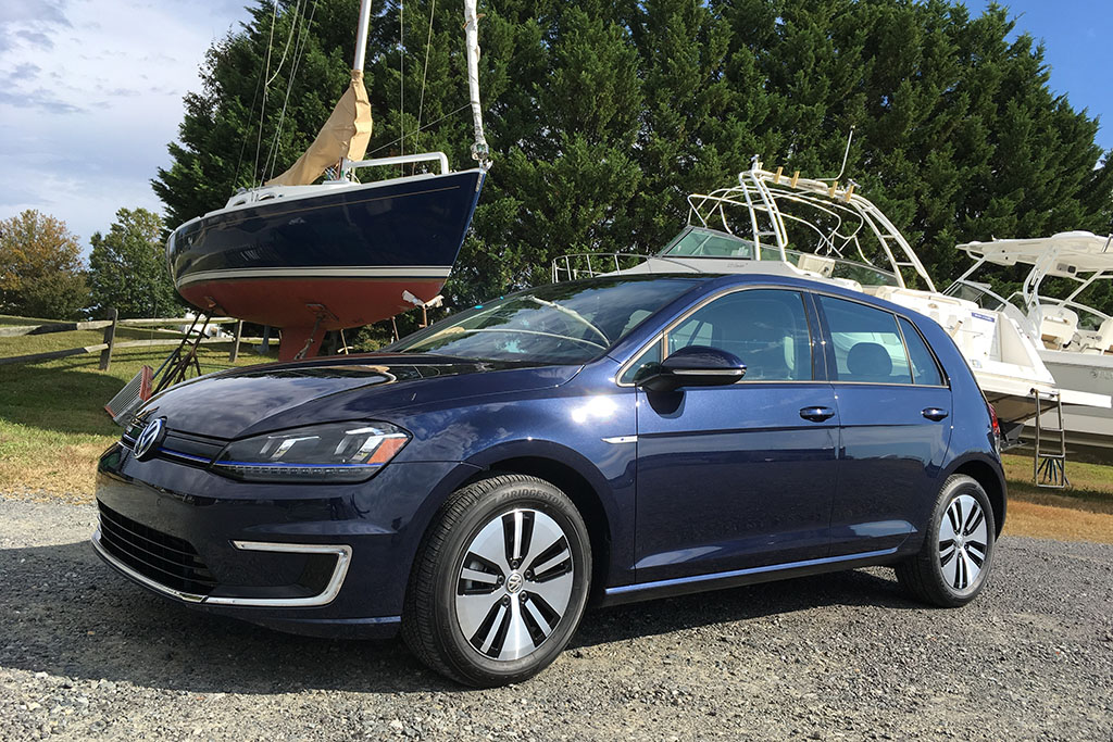 The Volkswagen e-Golf Is Actually Pretty Awesome