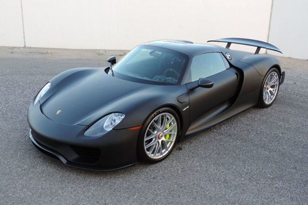 Why Are There 8 Porsche 918 Spyders for Sale on Autotrader?