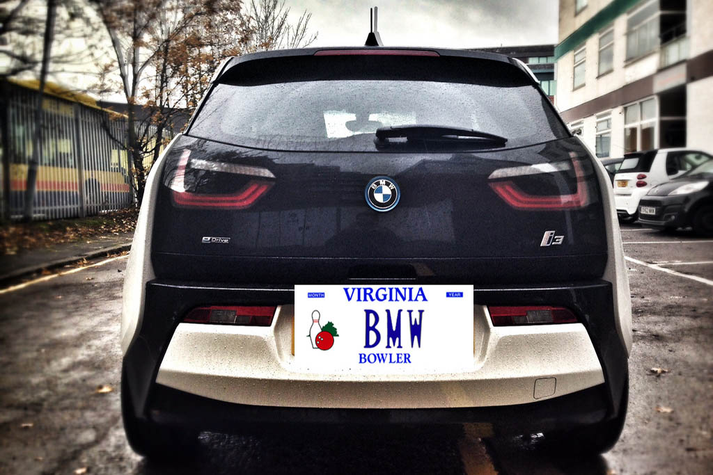 """Here Are All the Cars With the Vanity Plate """"BMW"""" Across the Country"""