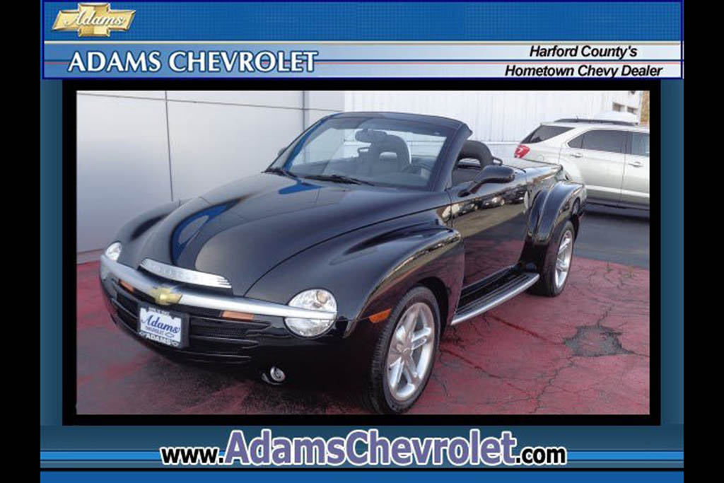 Autotrader Find: 2003 Chevy SSR With 150 Original Miles