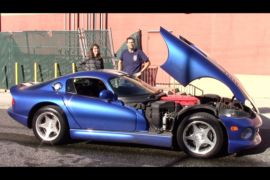 I Taught My Friend to Drive Stick Shift in My Dodge Viper (And Then It Broke)