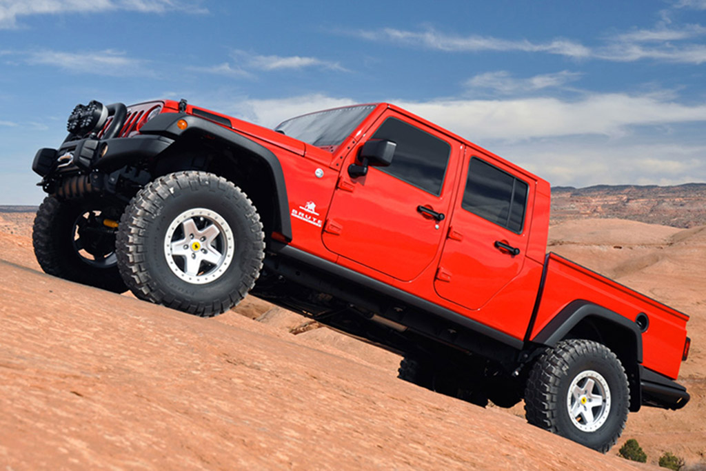 You Can Buy a Jeep Wrangler Pickup Right Now -- for $100,000