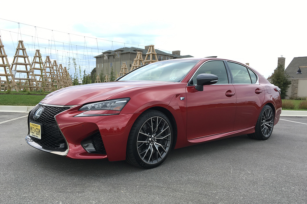 The Lexus GS F Is the Incognito Performance Sedan