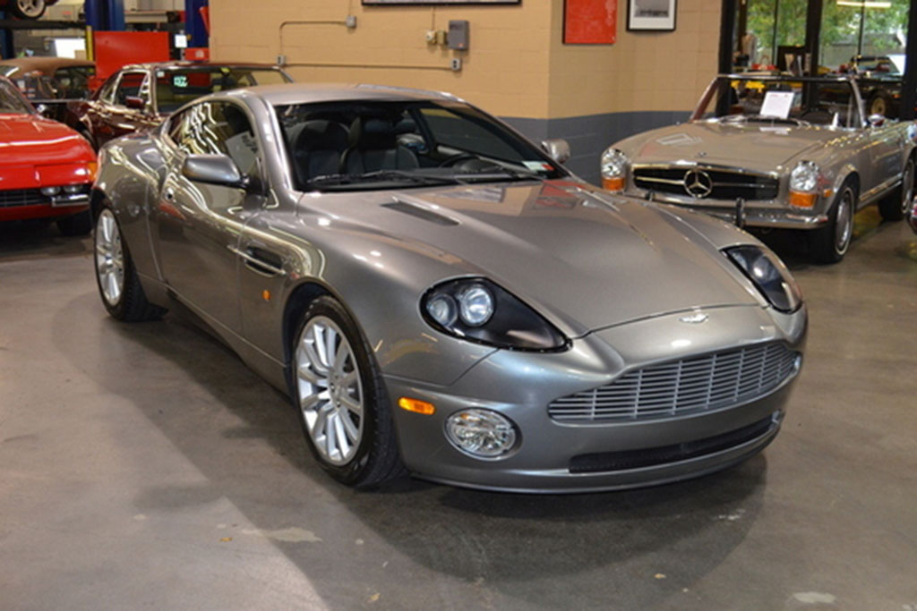 Autotrader Find: 2003 Aston Martin Vanquish With Manual-Transmission Conversion