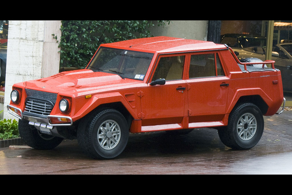 Was the Lamborghini LM002 The First Performance SUV?
