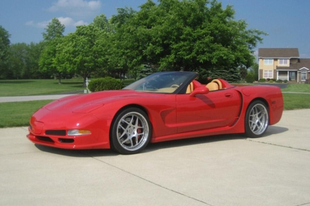 Autotrader Find: 2002 Chevrolet Corvette Z06 Custom Convertible