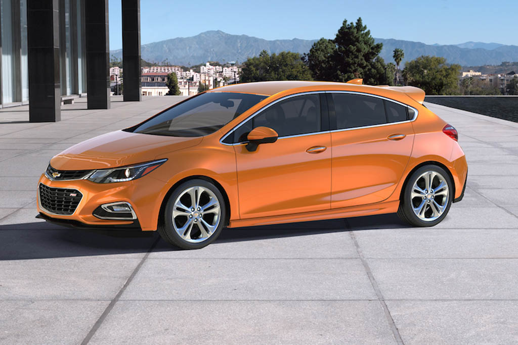 Chevy, Please Make a High-Performance Version of the Cruze Hatchback