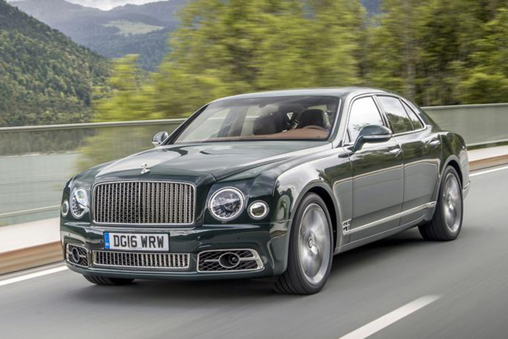 Here Are the Craziest Options on the Bentley Mulsanne