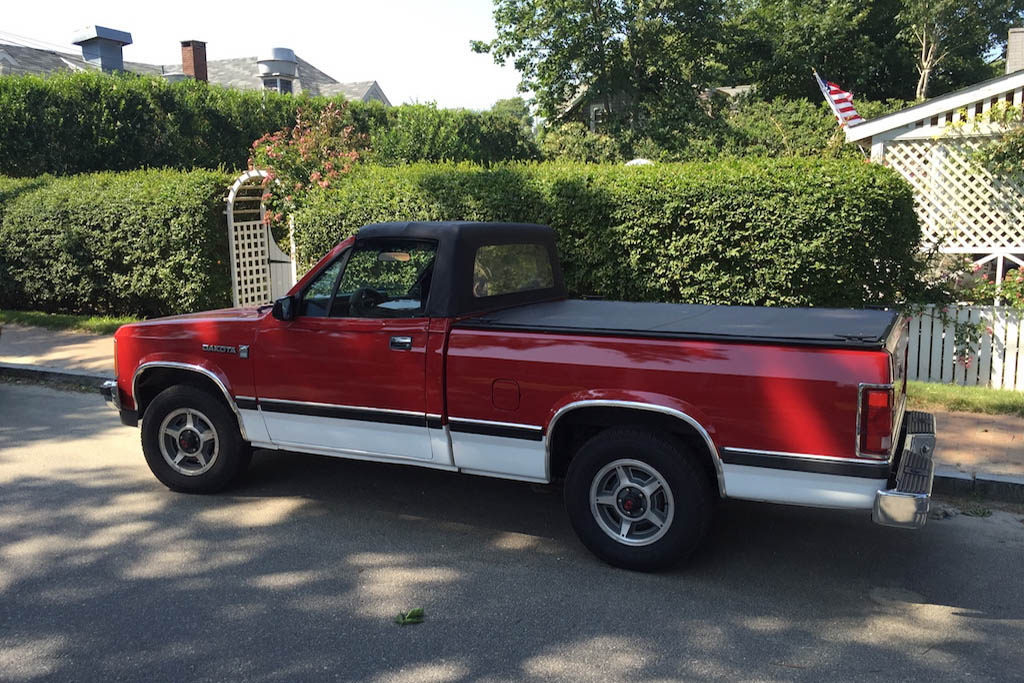 Dodge Dakota Convertible: Feel the Wind in Your Mullet