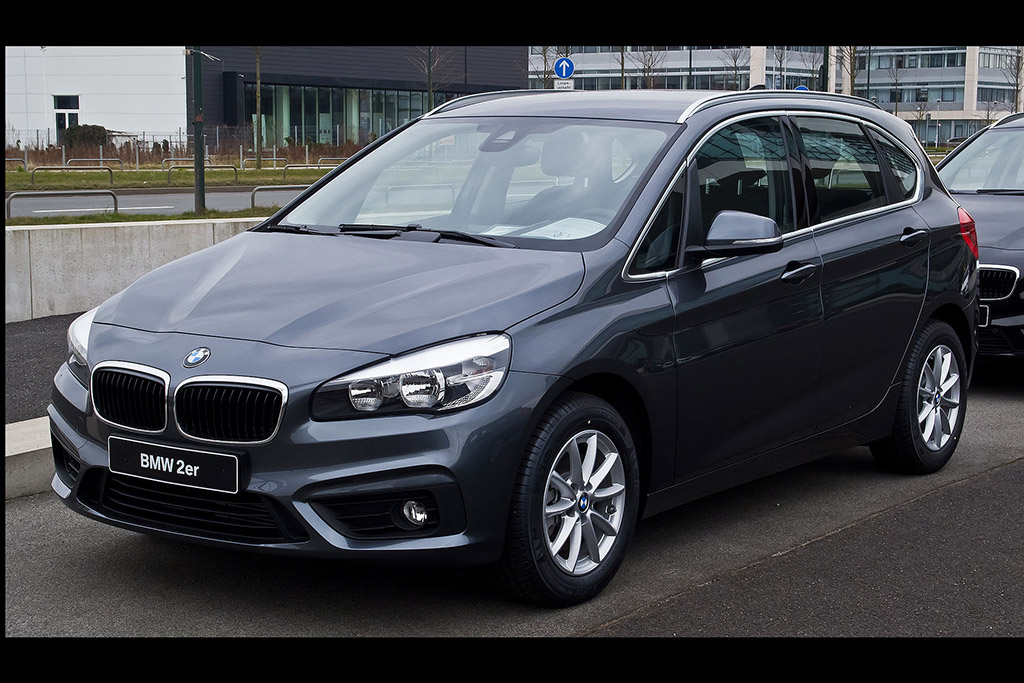 BMW Sells a Small, Front-Wheel-Drive Minivan in Europe