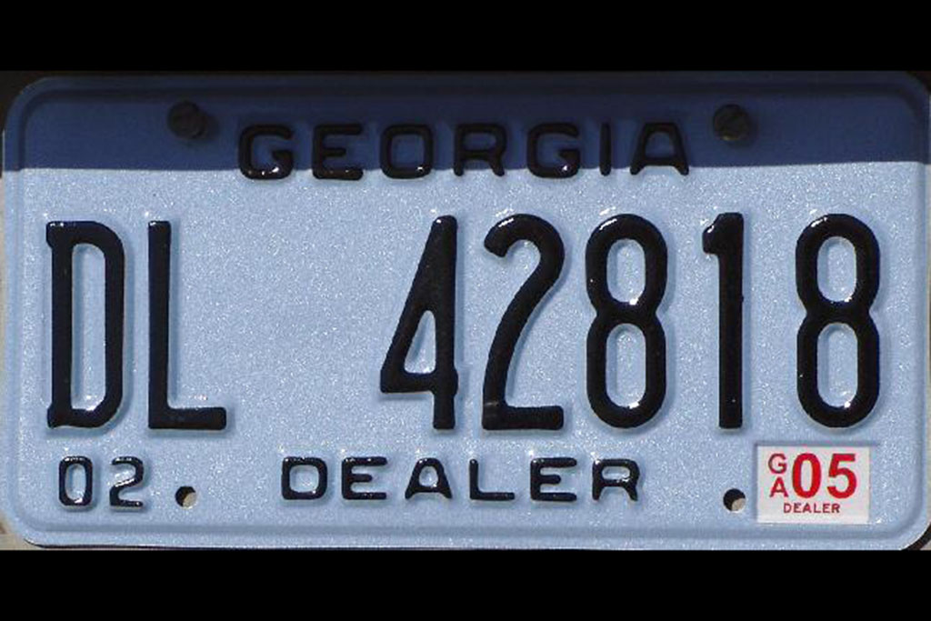 The Great Gift of the Dealer License Plate
