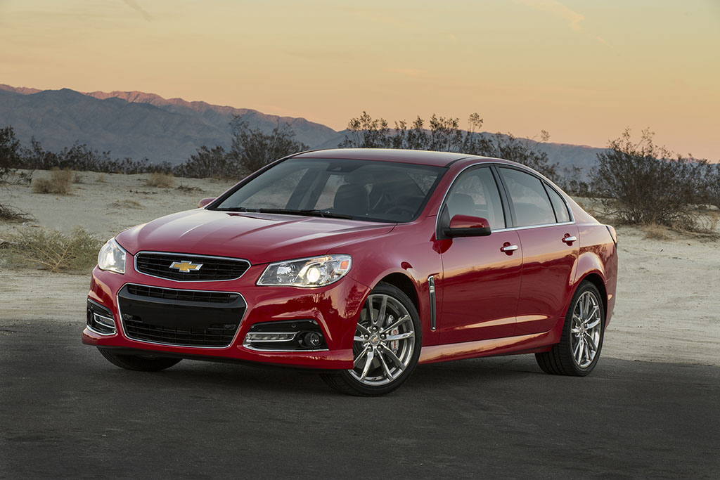 Excuse Me While I Mourn the Chevy SS