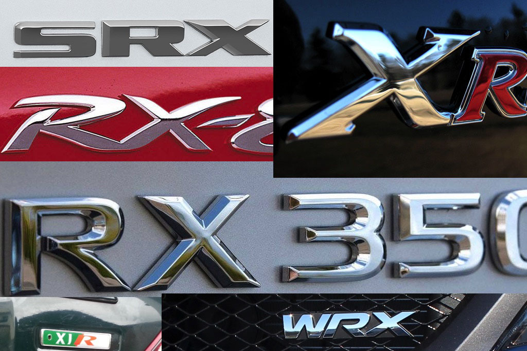 The Car Industry Is Obsessed With the Letters R and X