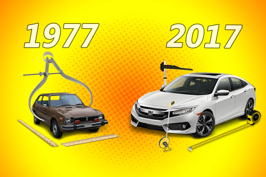 Here's How Much Bigger Modern Cars Get With Each Redesign