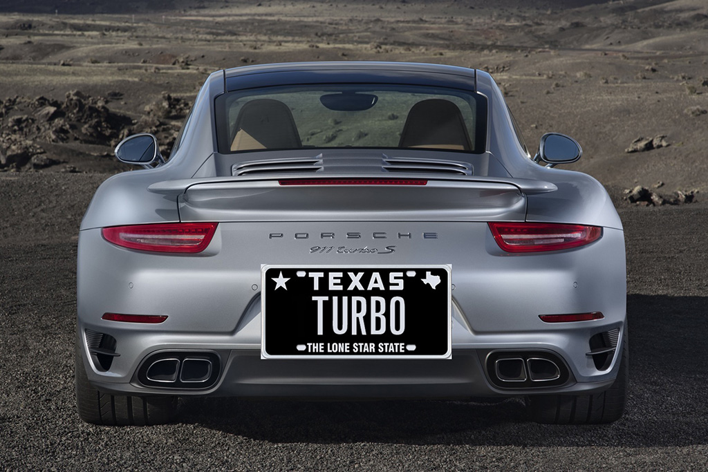 """Here Are All the Cars With the Vanity License Plate """"TURBO"""" Across the Country"""