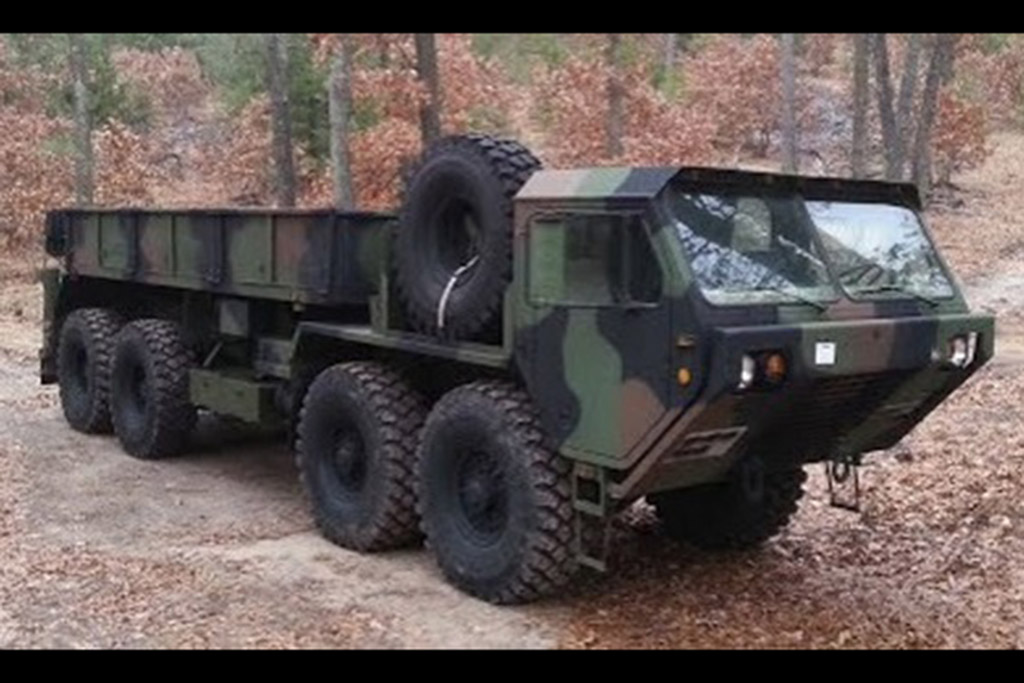 Autotrader Find: Giant 8-Wheel Drive Military Vehicle