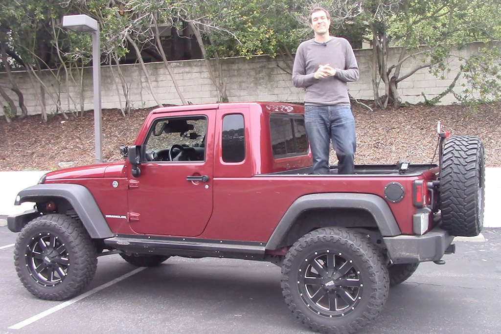 Here's Why the Jeep Wrangler Pickup Is Awesome
