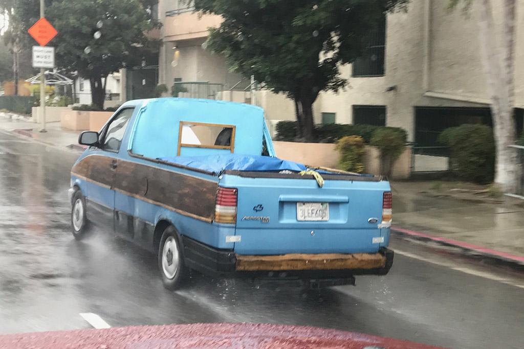 Someone Made a Ford Aerostar Pickup