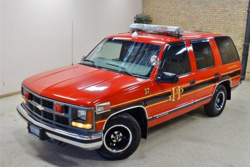 Autotrader Find: Fire Chief's 1999 Chevy Tahoe for $7,995
