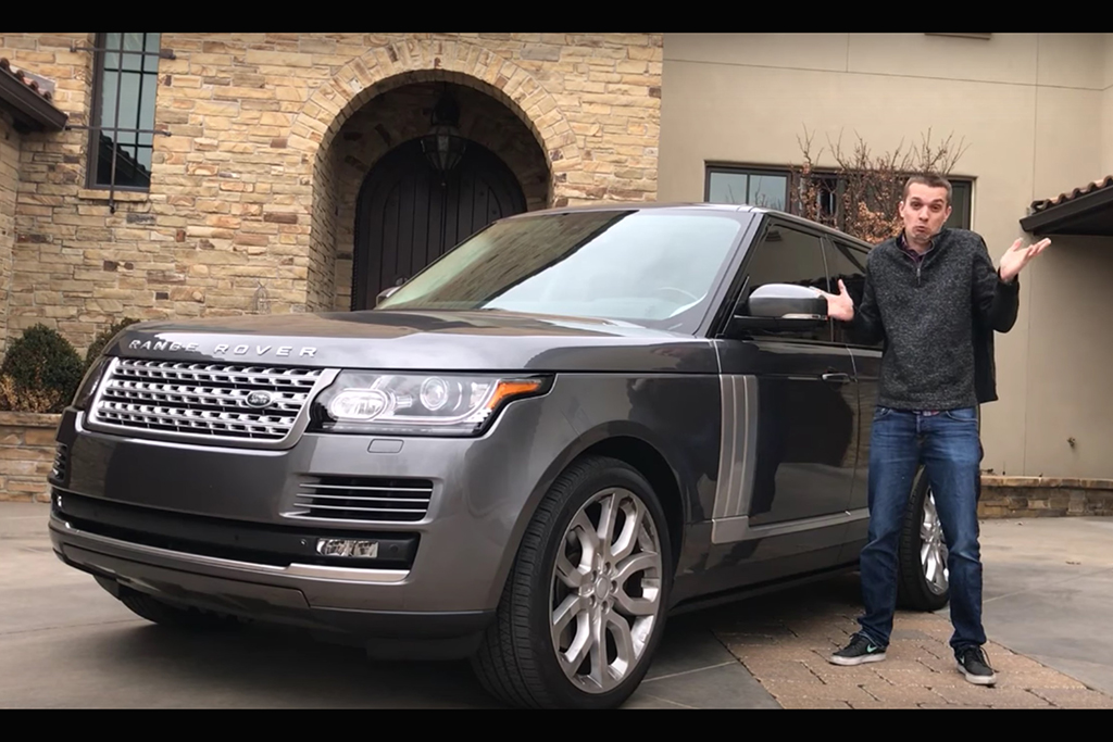 Letting Me Drive a $110,000 Supercharged Range Rover Was a Mistake