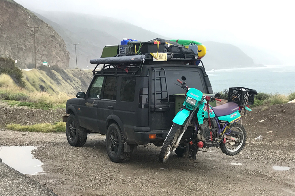 Check Out This Awesome Land Rover Surf Car From Malibu, California