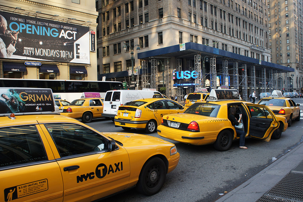These Are the Strangest Taxis in the New York Taxi Fleet