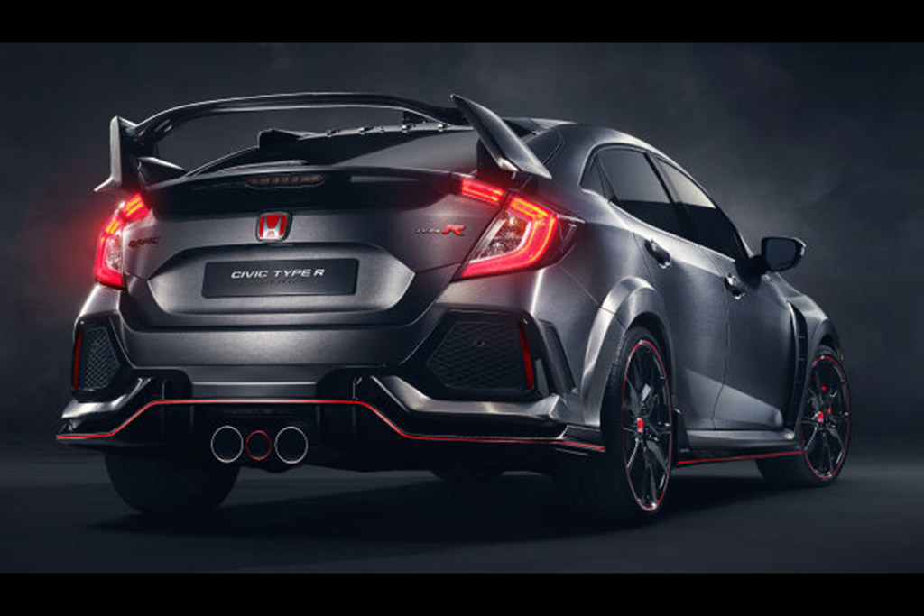 The Honda Civic Type R Will Be Front-Wheel Drive