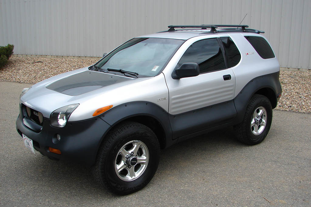 The Isuzu Vehicross: That Time Isuzu Put a Concept Car Into Production