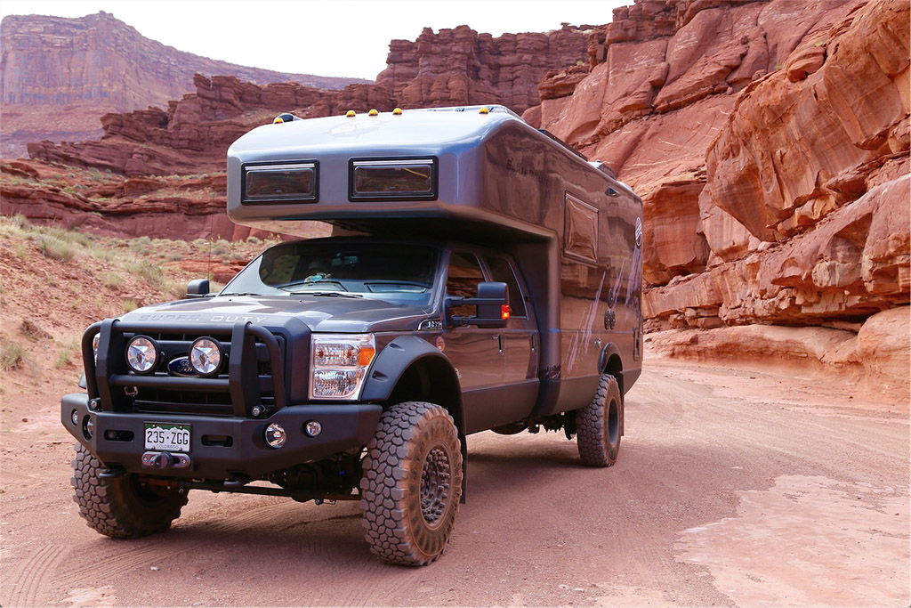 EarthRoamer Makes Amazing RVs out of Ford Super Duty Pickups