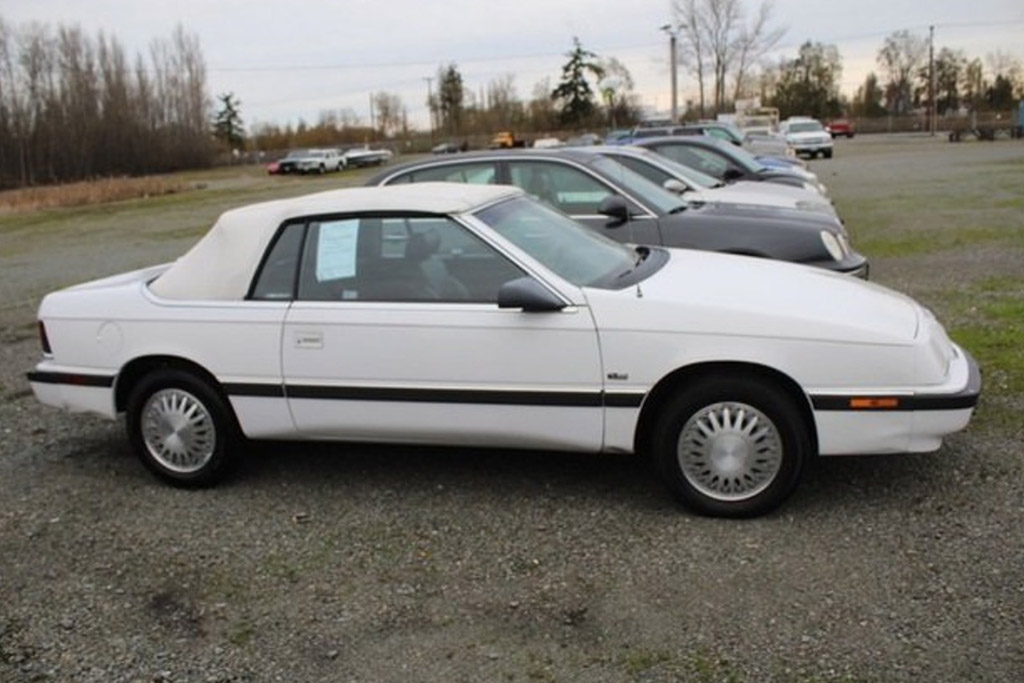 The Chrysler LeBaron Convertible that Tried to Kill Me