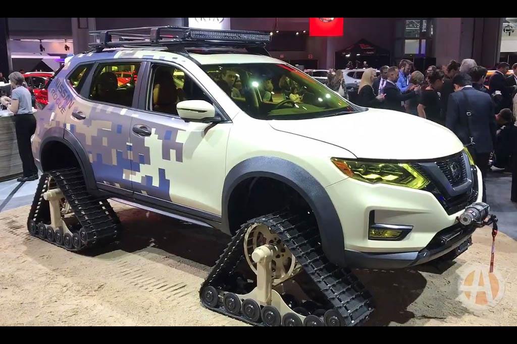 Nissan Rogue Trail Warrior: New York Auto Show - Video
