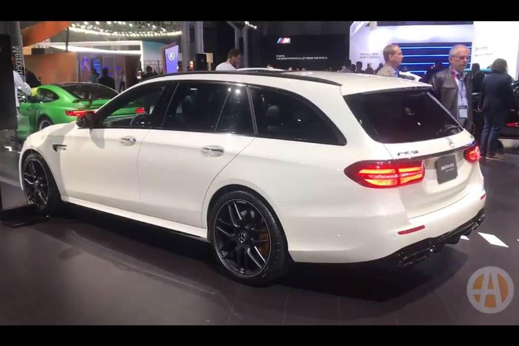 2018 Mercedes-AMG E63 S Wagon: New York Auto Show - Video