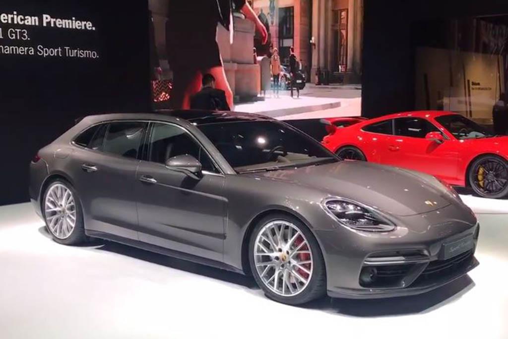2018 Porsche Panamera Sport Turismo: New York Auto Show - Video