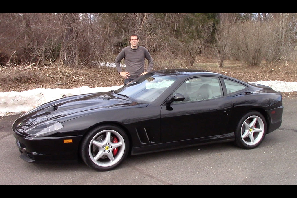 Here's Why the Ferrari 550 Maranello Has Doubled in Value