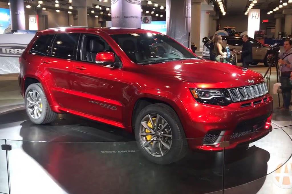 2018 Jeep Grand Cherokee Trackhawk: New York Auto Show - Video