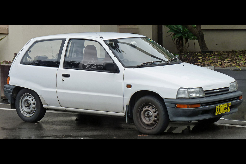 Daihatsu Charade: Flash in the Econo Pan