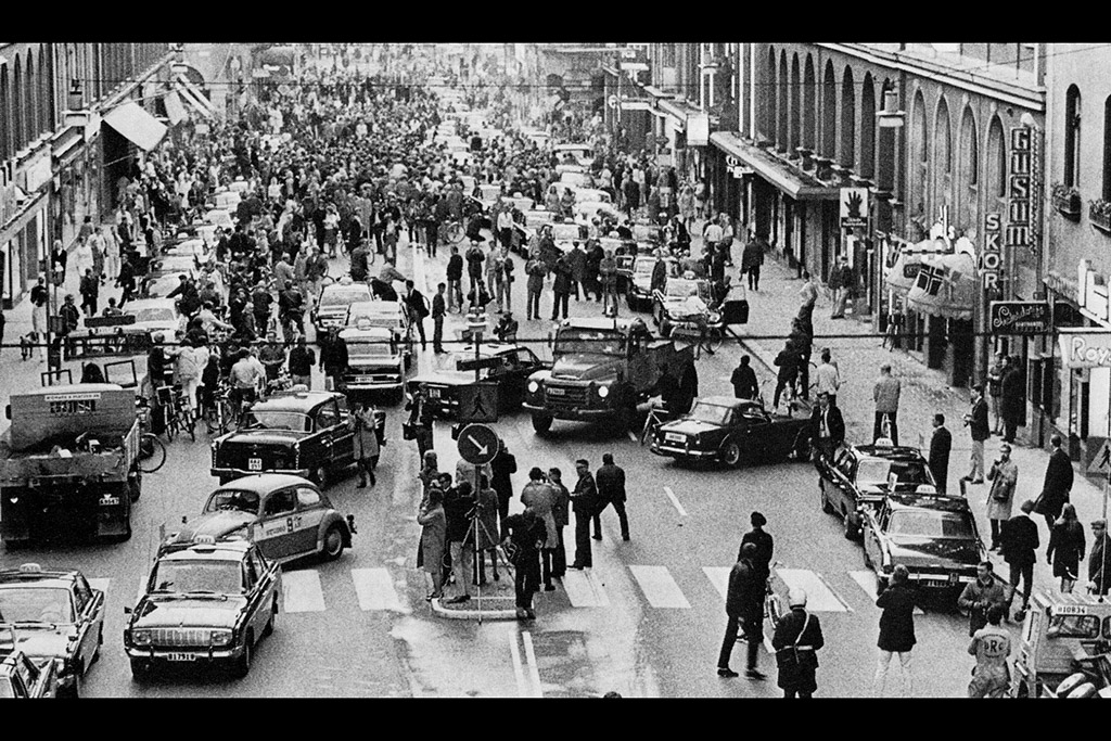 H Day: When Sweden Switched to Driving on the Right -- in 1967