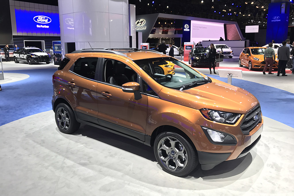 I Had No Idea the Ford EcoSport Exists, but It Does