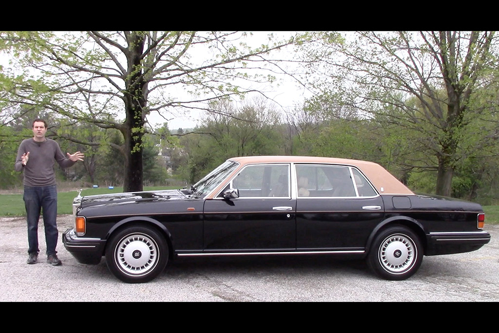 Here's What a $300,000 Rolls-Royce Was Like ... in 1996