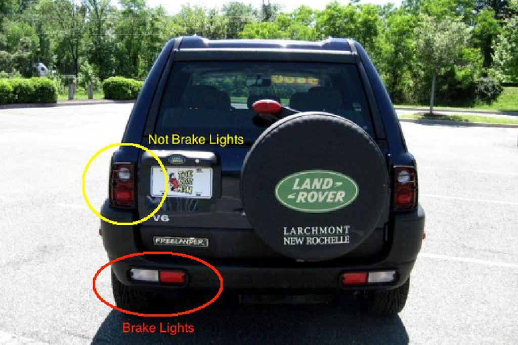 The Land Rover Freelander's Brake Lights Were Really Strange