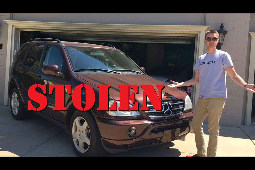 My Mercedes ML55 Was Stolen by a Really Stupid Thief