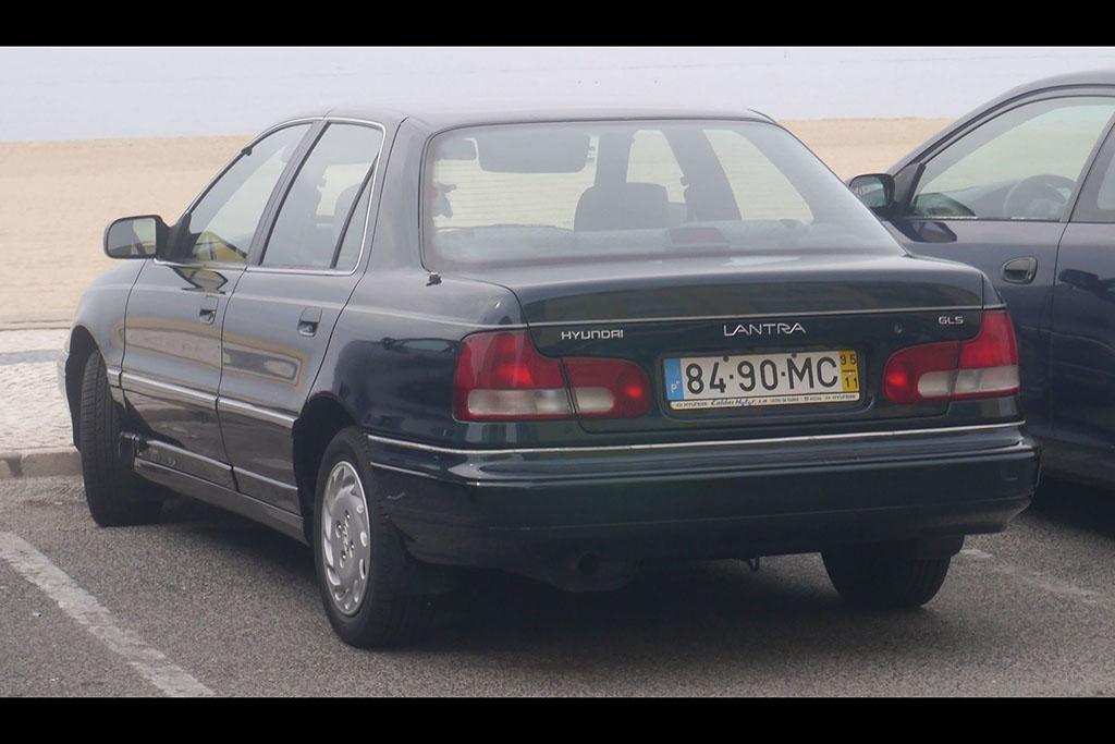 """The European Hyundai Elantra Was Called the """"Lantra"""""""