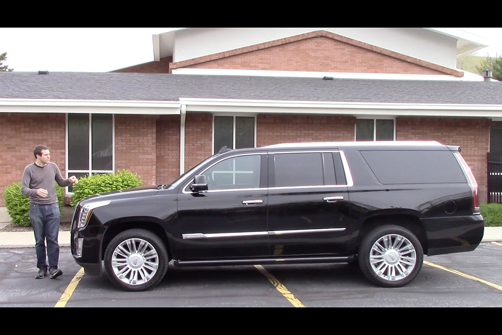 Here's What You Get in a $100,000 Cadillac Escalade ESV Platinum