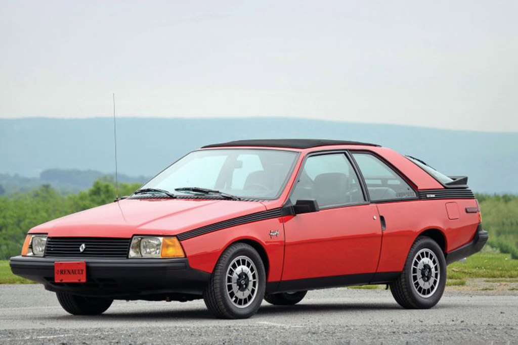 Renault Fuego: La Voiture de Sport Francaise!