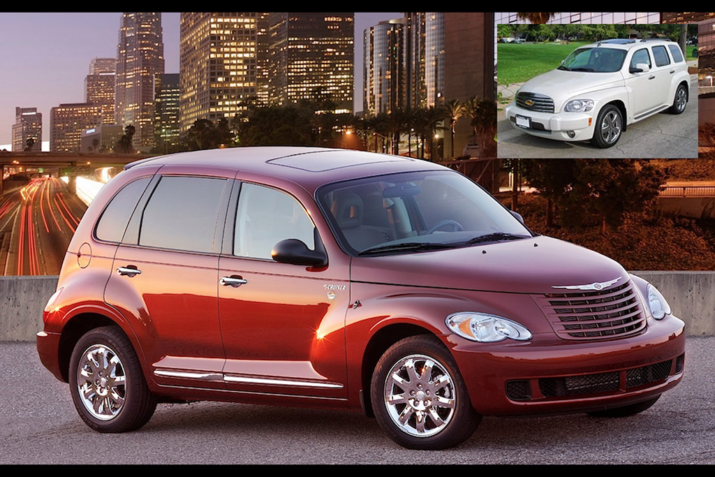 Fact: The Same Person Designed the Chrysler PT Cruiser and Chevy HHR