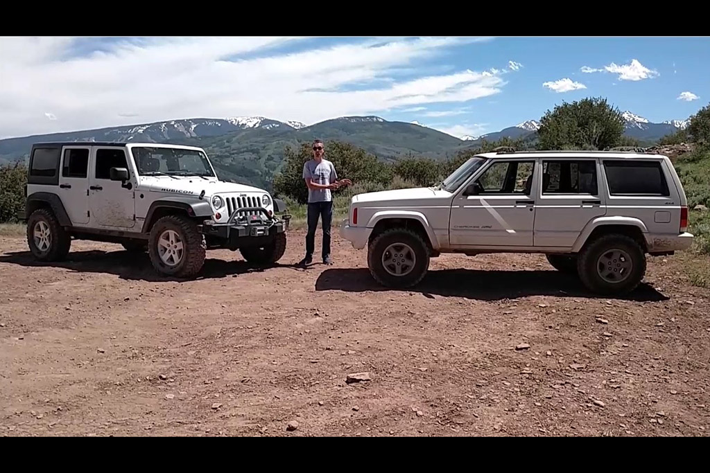 $300 Jeep Cherokee Vs. $40,000 Wrangler Unlimited Rubicon