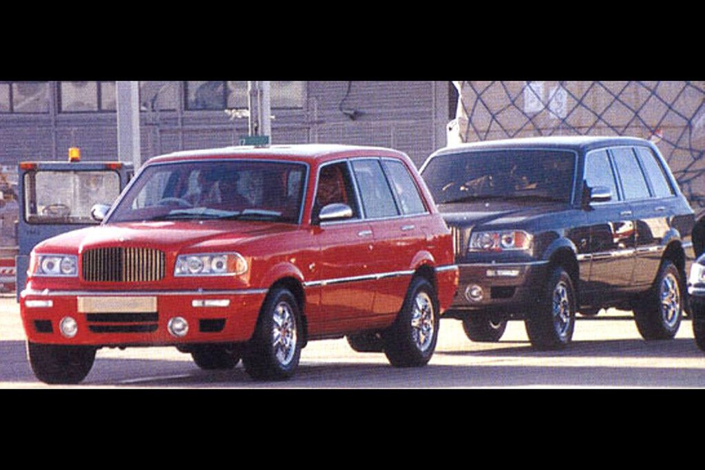 The Bentley Dominator: Bentley's First (And Unknown) SUV